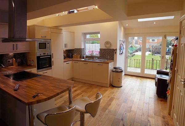 detached garage addition ideas - Kenilworth Architecture House Extension